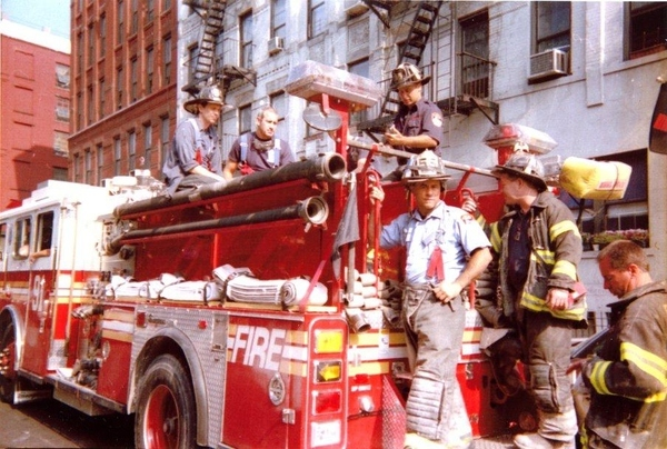 Steve Buscemi Was A Volunteer Firefighter On 9/12/01