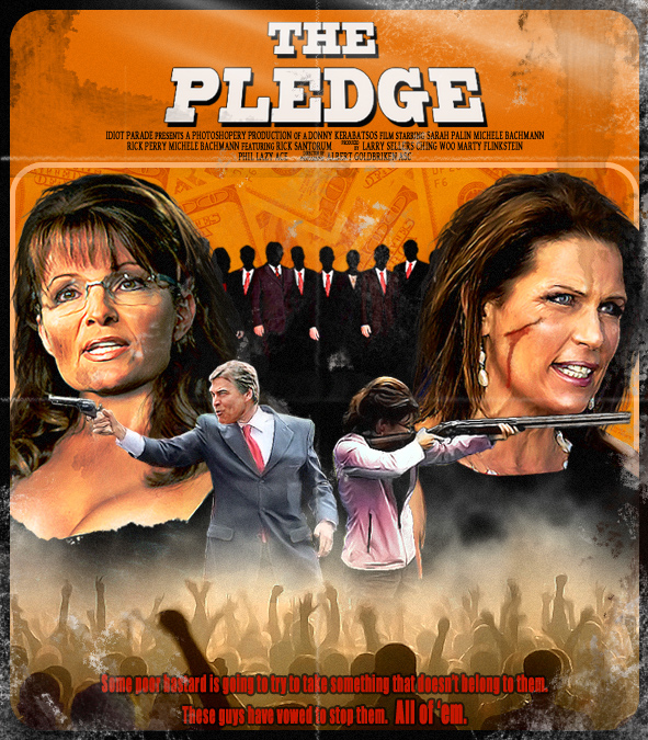 "Sarah Palin And Michele Bachmann In ""Grindhouse"""