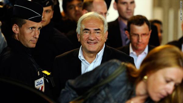 Dominique Strauss-Kahn Returns To France