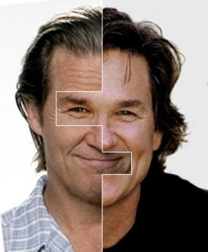 Jeff Bridges is Kurt Russell