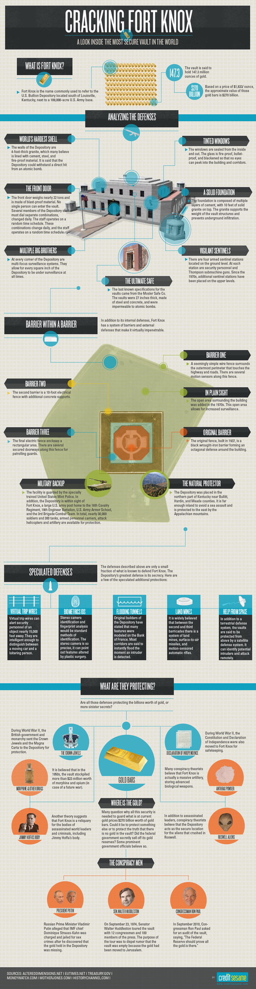 Fort Knox At A Glance [Infographic]