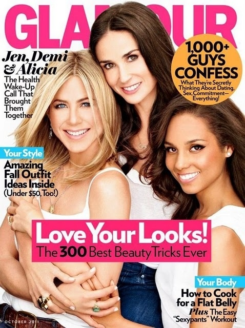 Jennifer Aniston, Demi Moore, And Alicia Keys: What Happened To Your Faces?!