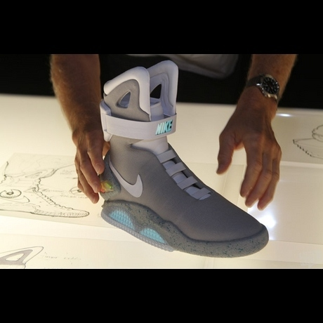 1st Pair Of Nike Air Mags Sells For $37,500