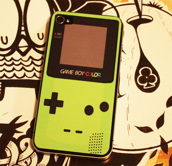 Gameboy Color iPhone Skin