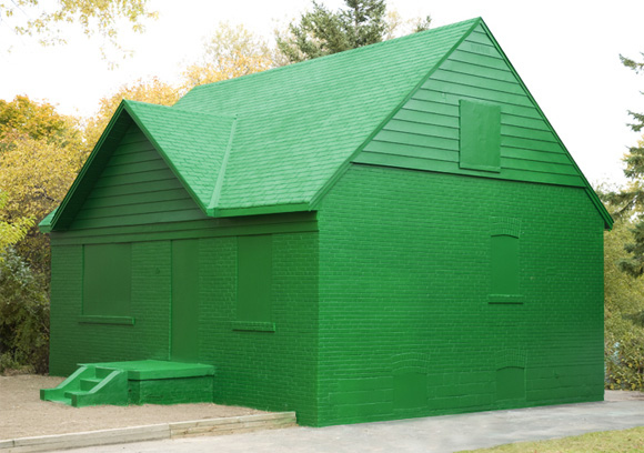 Life-Sized Monopoly House