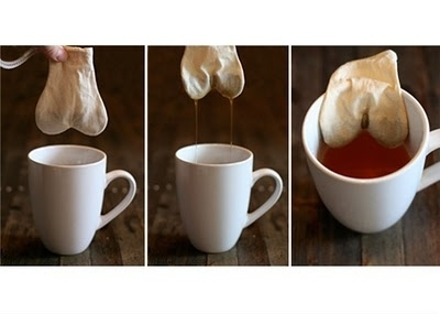Ball Sack Shaped Tea-Bags