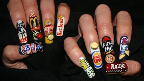 Fast Food Fingernails