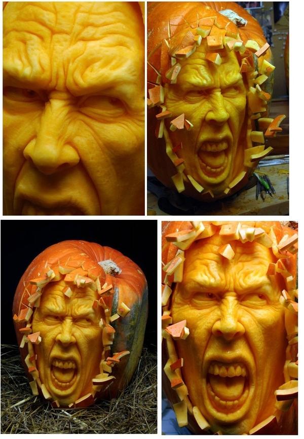 Insanely Scary Jack O'Lantern