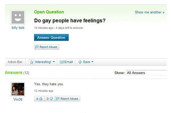 Do Gay People Have Feelings?