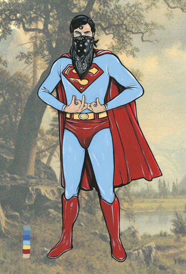 Gangster SuperMan