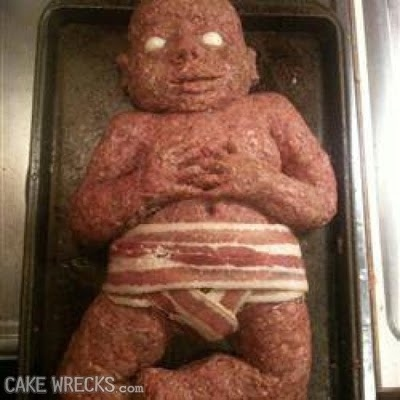 Best Baby Shaped Meatloaf, EVER!