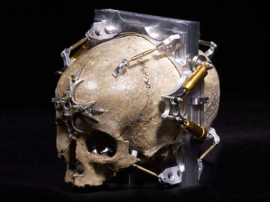 Camera Made From 150 Year Old Skull