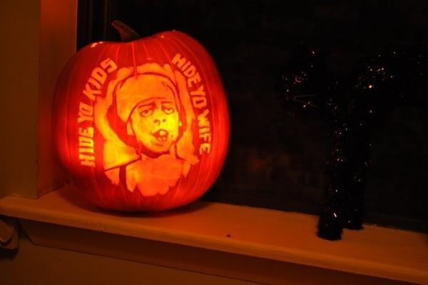 My Antoine Dodson Pumpkin