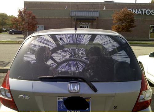 Star Wars Rear Window Sticker