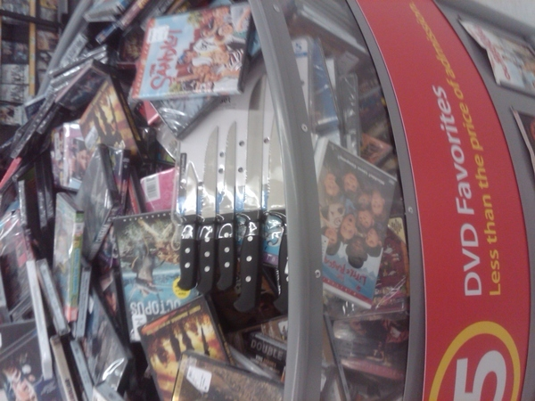 Movie Night At Walmart