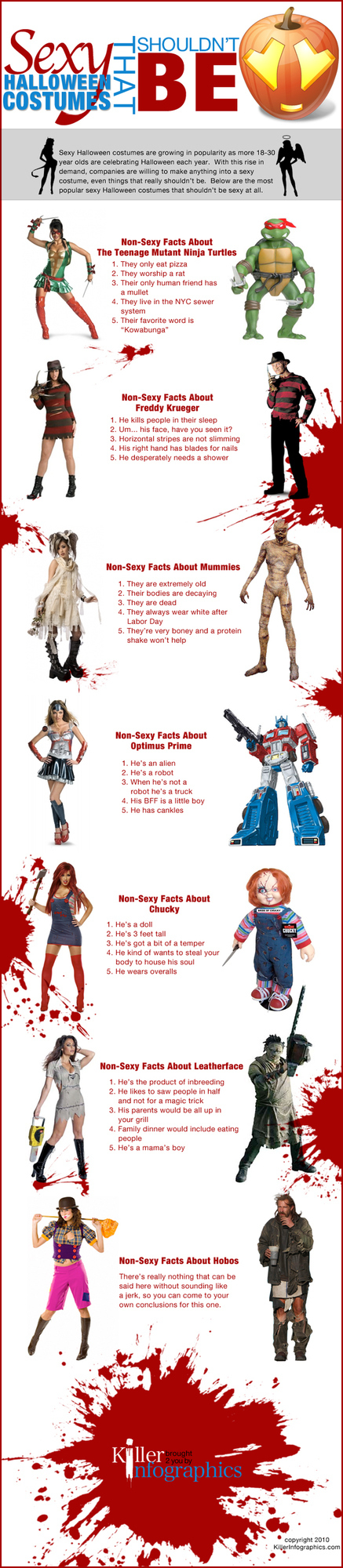 Sexy Halloween Costumes That Shouldn't Be (The Infographic)