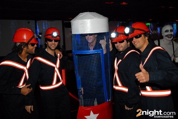 Halloween As Chilean Miners