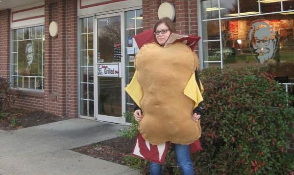 KFC Double Down Costume