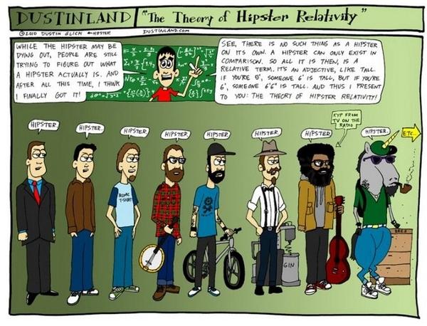 Hipster Relativity