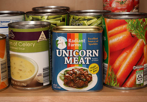 Think Geek Turns Famous Unicorn Meat Prank Into Actual Product