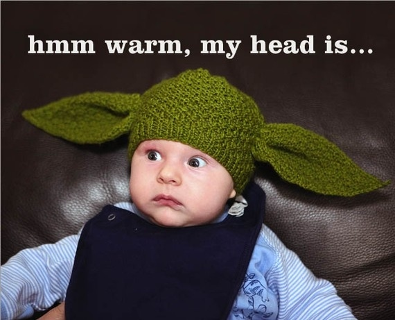 Yoda Baby Beanie