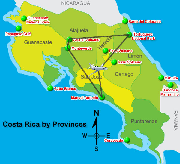 Top 4 Places to Visit in Costa Rica in a Week