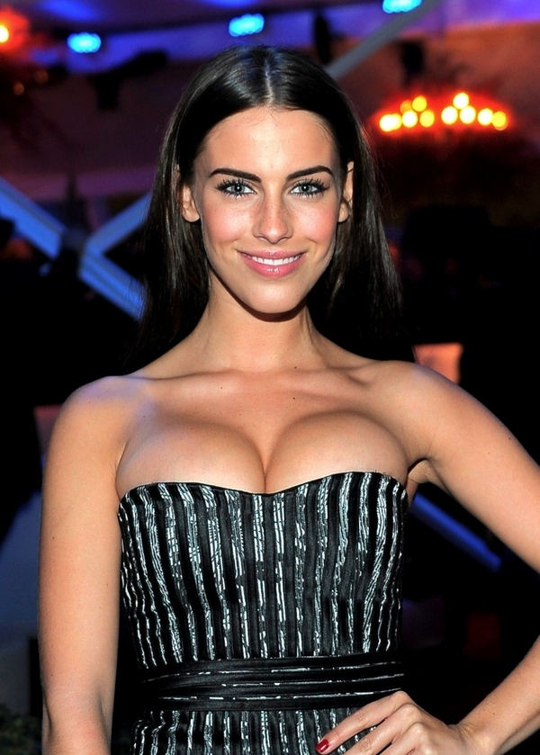 90210's Jessica Lowndes Proves Push-Up Bras Can Go Awry