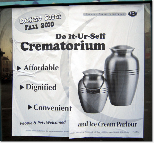 Do It Yourself Crematorium And Ice Cream Parlour