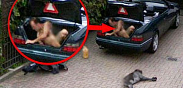 Naked Man Caught On Google Street View