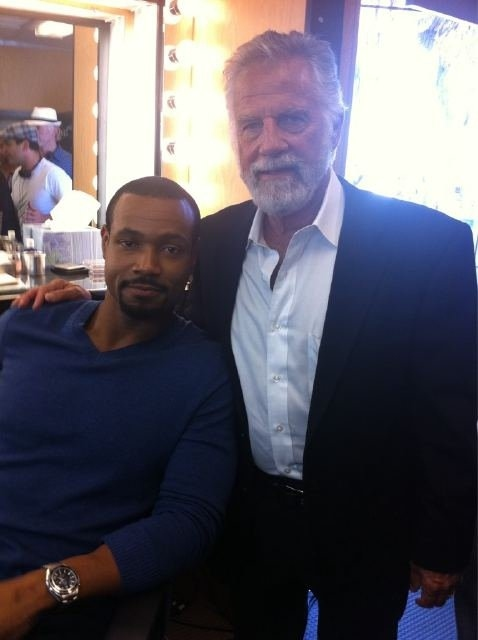 Old Spice Guy & Dos Equis Most Interesting Man in the World - Together at Last
