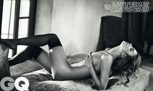 Irina Sheik Nude in GQ Spain Magazine