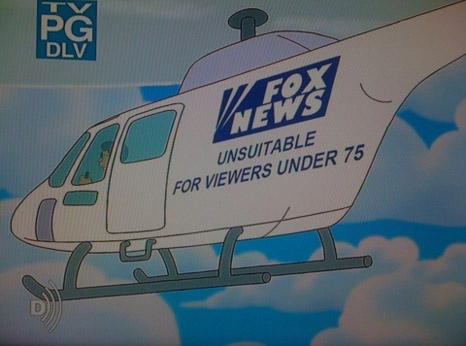 The Simpsons Mock Fox News... Again