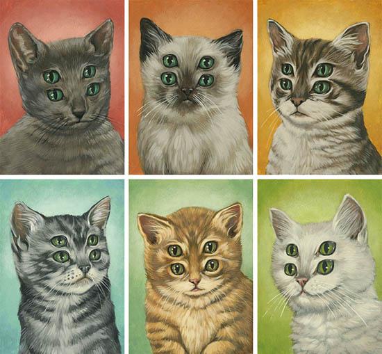 Four-Eyed Kitties