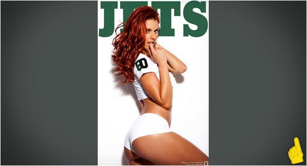 NFL Redhead Cheerleader