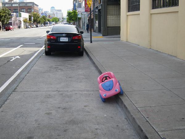 Cutest Parking Job Ever