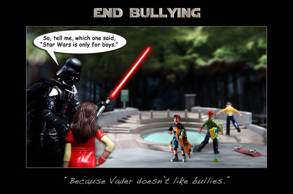 """""""Vader Doesn't Like Bullies"""""""