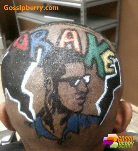 Drake Haircut Fail