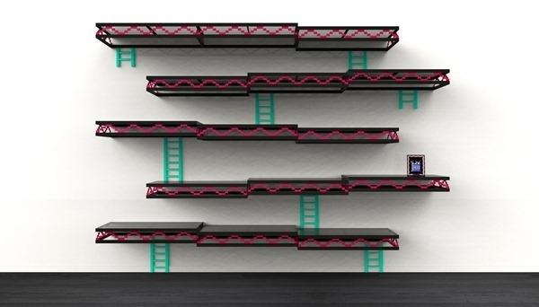 Donkey Kong Wall Shelves