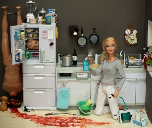 Barbie Does Spring Cleaning Early