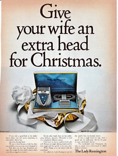 Christmas 1969: Extra Head For Wife