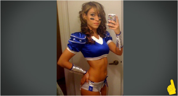 Sports Babe of the Day: Wannabe Cowboys Cheerleader