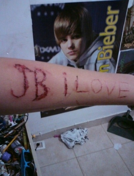Extreme Justin Bieber Fan