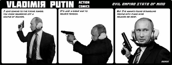 VLADIMIR PUTIN ACTION COMICS1