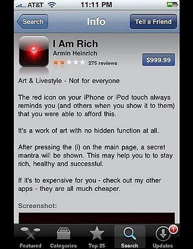 I Am Rich App