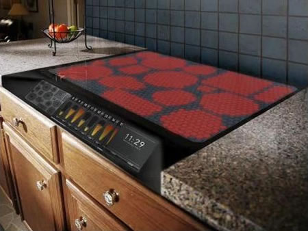Whats Hot? This Touch Screen Stove is