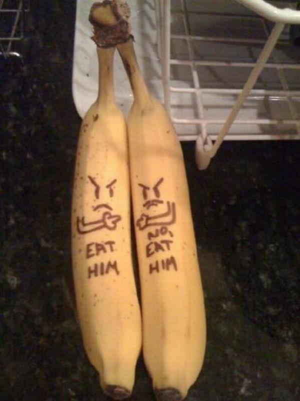 Fighting Bananas