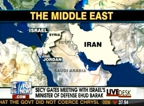 Fox News Doesn't Know Where Egypt Is