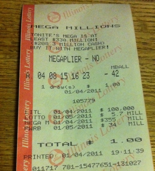 Mega Millions Lottery Numbers Are Almost LOST Numbers