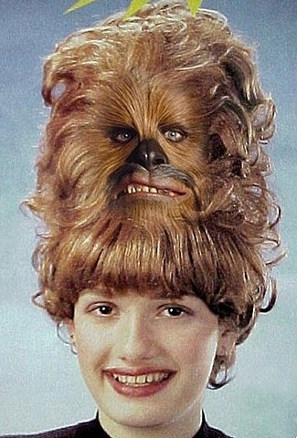 Chewy Hair.