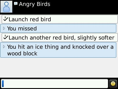 Angry Birds For Blackberry